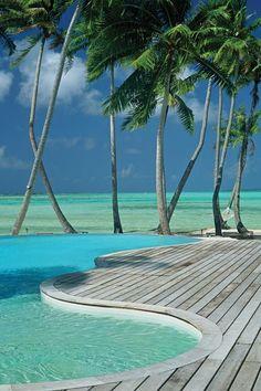 InterContinental Bora Bora Le Moana Resort.