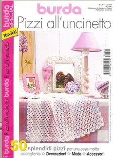 Burda special - Annie Mendoza - Álbuns da web do Picasa Crochet Chart, Filet Crochet, Crochet Patterns, Crochet Stitches, Crochet Ideas, Knitting Magazine, Crochet Magazine, Knitting Books, Crochet Books