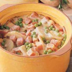 Potato Ham Bake Recipe. I know what I will be doing with all the left over Thanksgiving ham!