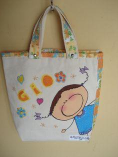 https://flic.kr/p/bo921T | Tote Bag - Bolsa 0003 - B | Tote bag confeccionada em Lona e forrada com tecido 100% algodão . Pintada  e personalizada.  Medidas: 231x31x8 cm