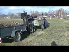 Rębak własej produkcji Akcja gałęzie - YouTube