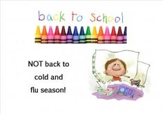 Boost your Child's Immune System with these 7 tips. Back to School doesn't have to mean Back to Cold and Flu Season!