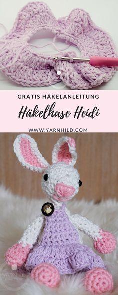 Häkelküken - Osterdeko Häkeln- Gratis Häkelanleitung. | Pinterest ...