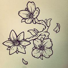 Jasmine Flower Tattoo Design on Behance