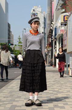 ストリートスナップ [おかめ] | BELLY BUTTON, TOKYO BOPPER, トーキョーボッパー, ベリーボタン | 原宿 | Fashionsnap.com