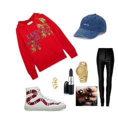 """""""Gucci urban"""" by alexiaastyle on Polyvore featuring moda, Gucci, SO, Zeynep Arçay, Michael Kors e By Emily"""
