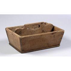 Early Walnut Tool Carrier,