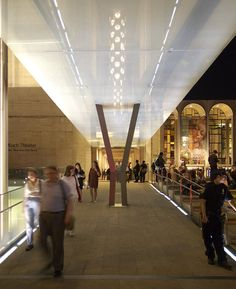 Lincoln Center (NY Fashion Week) - glass canopies