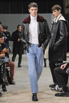 cuntchita:  efdol:  beautifulunusualthings:Andrew Westermann | Sandro F/W 2015 Paris Men's Fashion Week  im living for that look  this look is everything