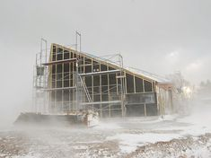 Melder om god høststemning fra kontoret! 🍁 #skaara #arkitekter #architecture #skagen Skagen, Louvre, Cabin, Architecture, House Styles, Building, Travel, Instagram, Home Decor