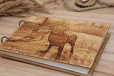 Dog Photo album Photo album for dogs . Wedding Photo Albums, Wedding Photos, Baby Album, Photo On Wood, Wedding Guest Book, Awesome, Dogs, Etsy, Image