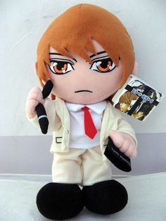 Death Note Light 12-Inch Plush Doll $14.95 ShadowAnime.com