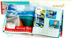 FREE Shutterfly Photo Book – 8×8 20-page Hard Cover Book MSRP $29.99
