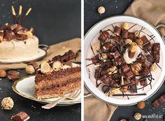 Candy-Cake, Süßigkeiten-Torte aka Nuss-Nougat-Karamell-Torte