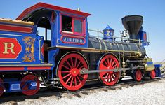 Image result for train engine painted to look like a tiger