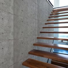 Dress up your staircase with urbanCONCRETE.