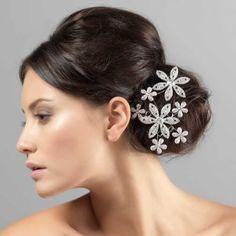 Bouquet of grace headpiece for wedding from glitzy secrets