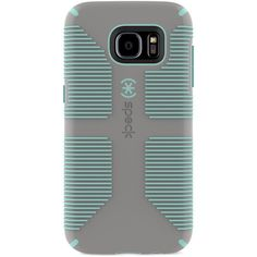 Speck CandyShell Grip Phone Case for Samsung Galaxy S7 Edge ($26) ❤ liked on Polyvore featuring accessories and tech accessories