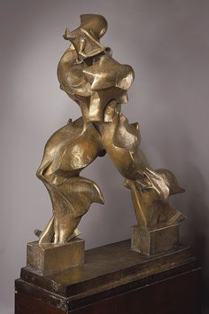 Umberto Boccioni - Unique Forms of Continuity in Space (1913) | The Metropolitan Museum of Art (New York) Futurisme