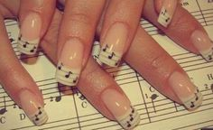 French Manicured Nails With A Twist photo Callina Marie's photos ...