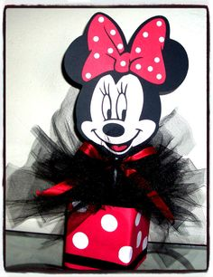 Hey, I found this really awesome Etsy listing at https://www.etsy.com/listing/179427986/minnie-mouse-birthday-centerpiece-party