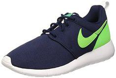 Nike Roshe One (GS) Laufschuhe obsidian-voltage green-lucid green-white - 37,5 - http://uhr.haus/nike/37-5-eu-nike-roshe-run-599728-jungen-laufschuhe-3