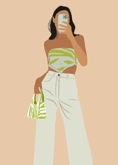 People Illustration, Illustration Girl, Portrait Illustration, Black Girl Cartoon, Black Girl Art, New Foto, Digital Art Girl, Cartoon Art Styles, Poses