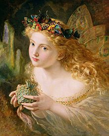 """""""Take the Fair Face of Woman"""" by Sophie Gengembre Anderson"""