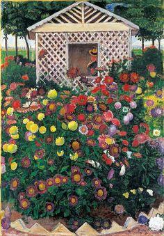 Ferdinand Hodler (1853 –1918) - Arbor (Die Gartenlaube), 1901 Kunstmuseum Solothurn, Swithzerland