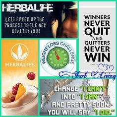 Nutrition club challenge!!! new members welcome!!!! contact Blanca at www.goherbalife.com/blancah
