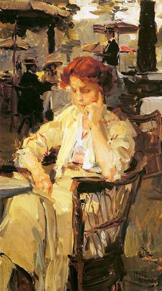Isaac Israels ~ Dutch Impressionist painter