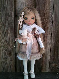Текстильная кукла Верочка. Handmade.
