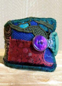 #unique #dreamy #fairy #gipsy #pixie #bohemian BlueNight #wrist #cuff #bracelet #handmade with #love   <3 Visit me now!