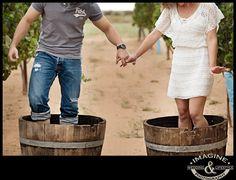 Imagine Photography | Arianna & Michael Vineyard and Desert Engagement Photos – Arizona Engagement Photography
