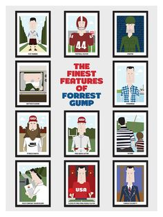 The Finest Features of Forrest Gump