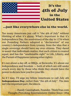 Independence Day - Randy's Random