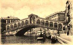 Rialto Bridge, Venice, c.1900