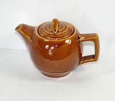 40s McCoy Teapot Art Deco Teapot Two Cup McCoy Tea by KickassStyle, $20.00