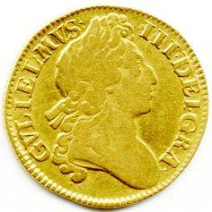 1701 UNITED KINGDOM, KING WILLIAM, GOLD, FULL GUINEA, COIN, Gold Sovereign, Gold coins, Gold Sovereigns For Sale, Half Sovereigns For Sale, Where to sell coins, Sell your coins,  Gold Coins For Sale in London, Quality Gold Coins, Where to buy gold coins,