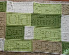 EIEIO - pattern for crocheted blanket