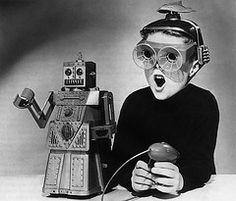 X-Ray specs + Robot