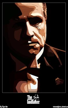 The Godfather - Don Vito Corleone, spent his life trying not to be careless #GangsterMovie #GangsterFlick