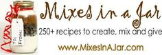 Free recipes for jar mixes.