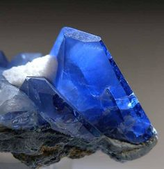 Benitoite: California's state gemstone. This blue lovely is only found in sizes larger than sand grains in one location worldwide, the mines in San Benito county of California located at the headwaters of the river bearing the same name. Discovered...