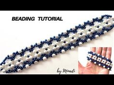 How to make a bracelet with pearl beads. Bracelet tutorial. Diy bracelet - YouTube