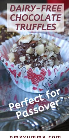 Chocolate Truffles scented with orange and cardamom are perfect for or any day made better with chocolate! They use coconut cream instead of whipping cream and you can switch up the flavors based on what you like and what you have on hand! Passover Desserts, Passover Recipes, Dairy Free Chocolate, Chocolate Recipes, Matzo Meal, Homemade Food Gifts, Chocolate Truffles, Coconut Cream, Holiday Baking