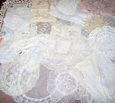 Vintage Lace Collection by CheekyVintageCloset on Etsy, $34.00
