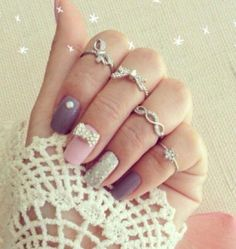 Cute and trendy stackable rings for woman | Just Trendy Girls