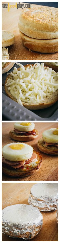 Copycat (and healthy!) mcmuffin breakfast sandwiches | seefoodplay.com