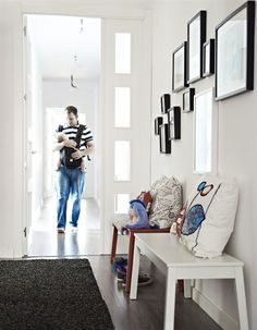 Personalise your entryway by displaying family photographs and your favourite art | live from IKEA FAMILY